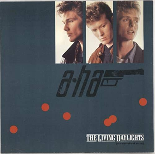a-ha - The Living Daylights - Warner Bros. Records - 920 736-0