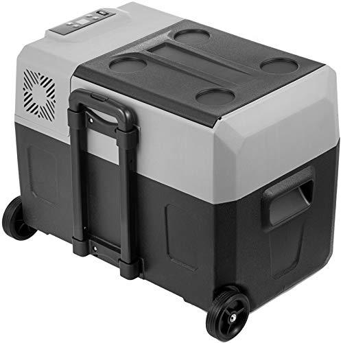VEVOR Mini Frigorifero Portatile per Auto 30L, con Schermo LCD Digitale, 220 V Mini Frigorifero Congelatore, Congelatore per Frigorifero Portatile da -20 a 20 Gradi C