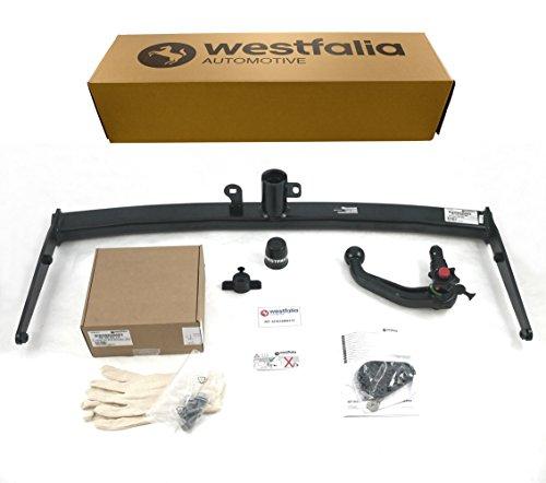 Westfalia abnehmbare Anhängerkupplung - AHK für VW Touran (BJ ab 09/2015) - Im Set mit 13-poligem fahrzeugspezifischem Westfalia Elektrosatz