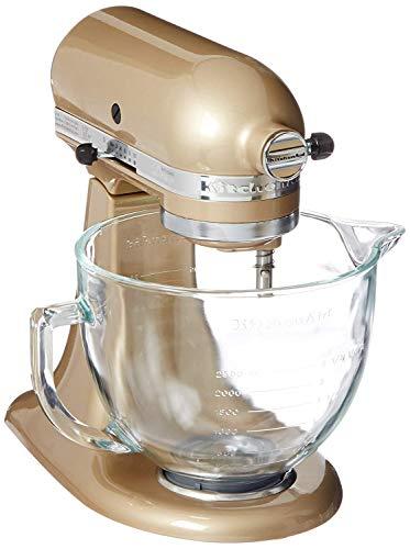 KitchenAid KSM105GBCBU 5-Qt. Tilt-Head Stand Mixer with Glass Bowl and Flex Edge Beater - Cobalt Blue