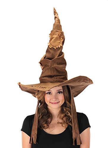 elope Harry Potter Sorting Hat Costume Puppet Brown