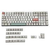 XDA 125 Dye Sub 9009 Retro PBT Full Keyset for MX Mechanical Keyboard Filco Ducky 104 TKL 61 KBD75 Kira96 YMD96 XD64 Tada68