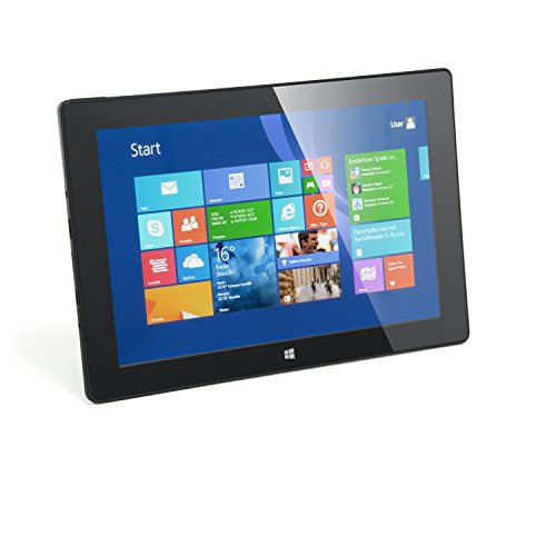 CSL Panther Tab 10 inkl. Windows 8.1-10.1 Zoll (25,6cm) Tablet, Intel QuadCore 4X 1.3GHz, 2GB RAM, 32GB SSD