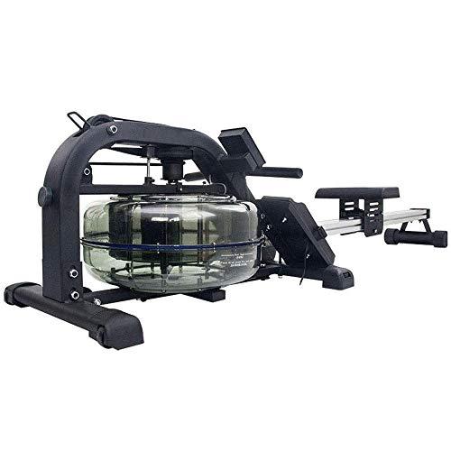 Hammer Acqua Vogatore Indoor Water Rower Resistenza Regolabile con Monitor LCD apparecchiatura Domestica di Ginnastica for Il Corpo Intero Esercizio Cardio Training