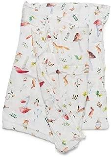 Loulou LOLLIPOP Soft Muslin Swaddle Blanket, Best Baby Receiving Blanket, 47