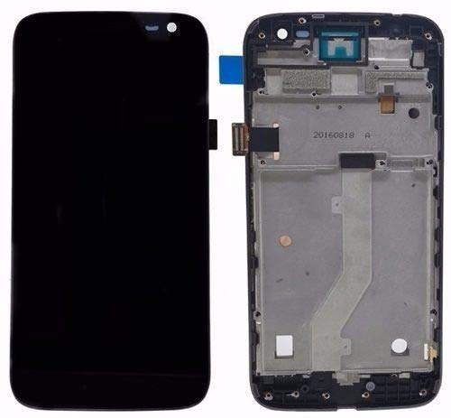 Tela Touch Frontal Moto G4 Play xt1600 xt1603 Preto com Aro