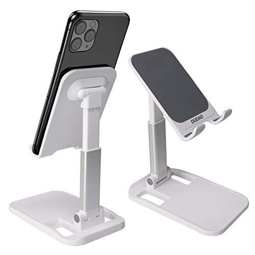Feizhen Soporte Movil,Multiangulo Soporte Tablet,Antideslizante y Plegable Soporte Teléfono Mesa para iPhone 12 Mini/12 Pro Max/11 Pro/SE, Xiaomi Redmi 9S/8 Pro y Otras Smartphones