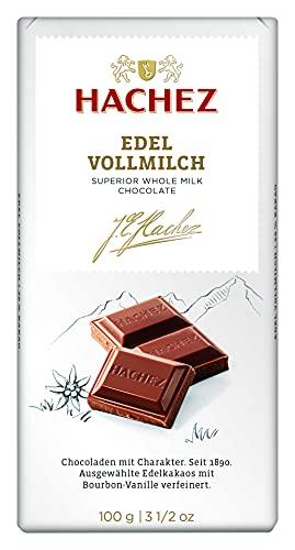Hachez Edel Tafel - Edel Vollmilch, 1er Pack (1 x 100 g)