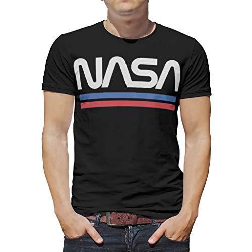 WJunglezhuang mannen mode NASA shirt Unisex tops Tees voor tieners