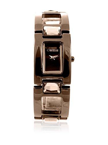 Morgan de Toi M1027U - Reloj de Pulsera Mujer, Acero Inoxidable, Color marrón