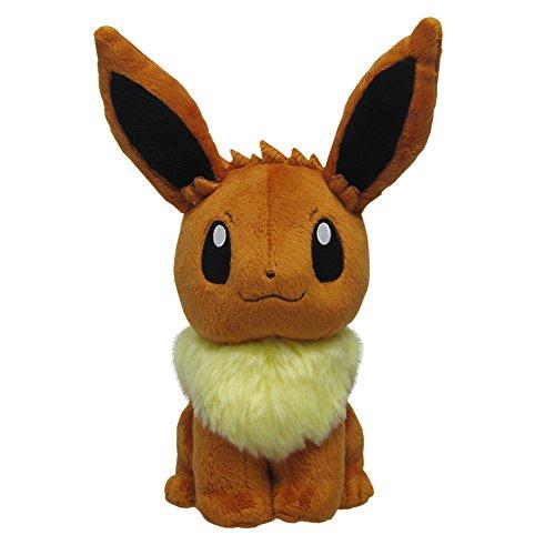 Sanei Pokemon All Star Series Eevee Stuffed Plush, 8'
