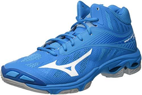 Mizuno Wave Lightning Z4Mid, Zapatillas para Hombre, Azul (B