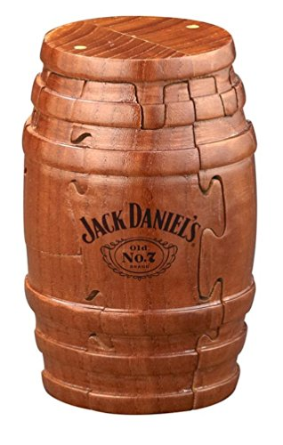 Amazon.com: Real Wooden Barrel Puzzle 9pc (Tennessee Whiskey Bottle)