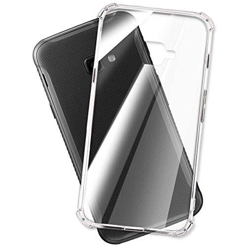mtb more energy® Hülle Soft Armor für Samsung Galaxy Xcover 4, 4S Enterprise Edition (SM-G390, G398 / 5.0'') - Anti Shock Verstärkung - 1,5mm TPU - Schutz-Hülle Cover Tasche Handyhülle