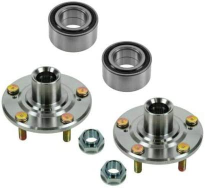 BreaAP Front Wheel Hub Bearing Pair Kit 20 with Compatible Set NEW before selling High quality ☆