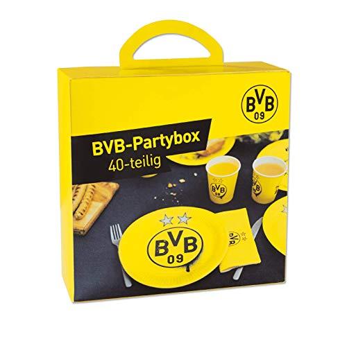 Borussia Dortmund, BVB-Partybox (40-teilig), Gelb, 0