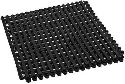 car-tuningde Tapis de sol antidérapant pour piscine/sauna 30 x 30 cm, PVC, Noir , 30 x 30 cm