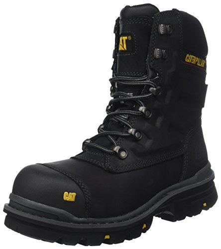 Caterpillar Premier 8 WR TX CT S3 HRO SRC, Zapatos de Seguridad Hombre, Negro (Mens Black Mens Black), 43 EU