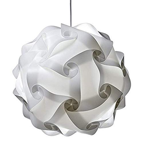Ububiko Pantalla de lámpara DIY Puzzle Lámpara Diseño de Flores Lámpara de Techo Lámpara Colgante Lámpara de pie Lámpara Colgante Lámpara de Pantalla Flexible Moderno