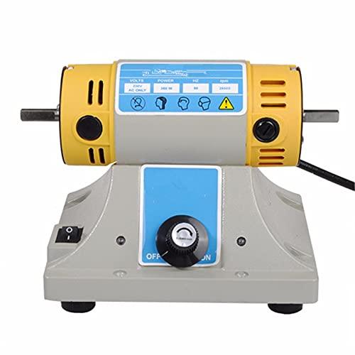 SISHUINIANHUA Máquina pulidora de 380W para joyería Dental Banco Torno DIY Máquina de Amoladora de carpintería DIY Herramientas