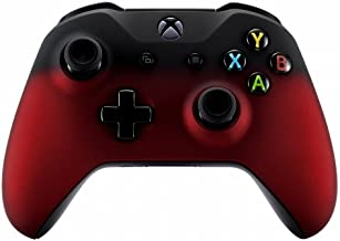 Best Xbox One Wireless Controller for Microsoft Xbox One - Custom Soft Touch Feel - Custom Xbox One Controller (Red & Black Fade) Review
