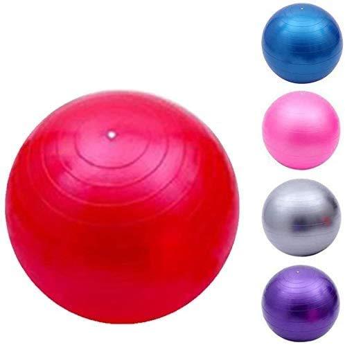 SAIYI Yoga-Übung Kugel-Anti-Explosions-Stability-Gymnastikball 95cm Swiss Ball Fitness Pilates Gleichgewicht Schwangerschaft Umstandsentbindungs Home Gym Gymnastikball (Color : Red, Size : 95cm)