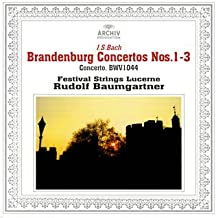 バッハ:ブランデンブルク協奏曲第1-3番、他