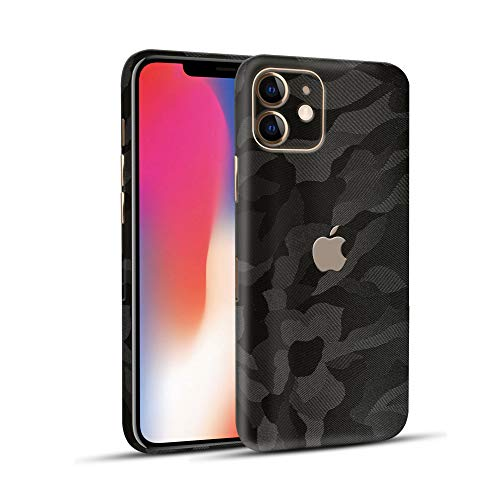 Normout iPhone 11 Skin Wrap Schutzfolie Rückseite Phantom -2X iPhone 11 Schutzfolie Rückseite,2X iPhone 11 Kameraschutz - iPhone Skin - Schützt vor Kratzern, Beschädigungen & Fingerabdrücken