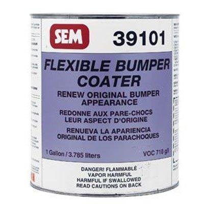 Price comparison product image SEM 39101 Black Original Flexible Bumper Coater Aerosol - 1 Gallon