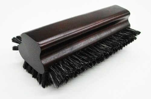 Iszy Billiards Pool Table Horsehair Brush with Mahogony Finish (8.5-Inch)