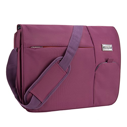 VanGoddy Orchid Purple Executive Anti-Theft Laptop Messenger Bag for MSI CX Series/WS GT WT Series/Gaming Series/Prestige Series / 11' to 15inch