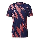 adidas Camiseta del Real Madrid PRe-Match. azul oscuro M