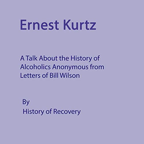 Ernest Kurtz cover art