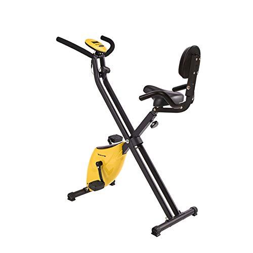 Tingeart Ultrasport Unisex F-Bike, Bicicleta De Ejercicio Profesional Ajustable con Pantalla LCD, Asiento Ajustable de 7 velocidades, Altura Regulable, para Atletas Y Mayores, 70 * 41 * 110Cm C