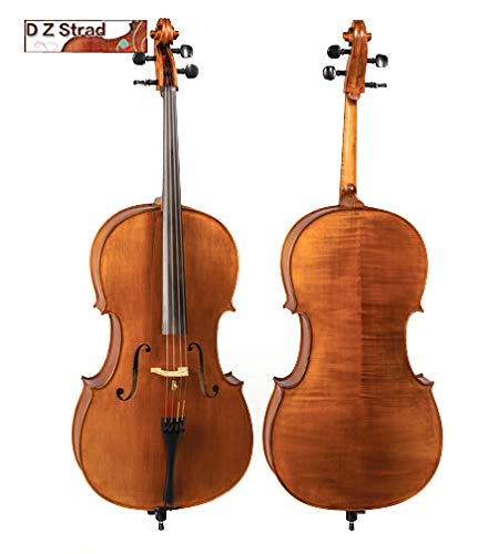 Old Spruce D Z strad Cello Model 800 Full Size 4/4 Handmade Cello with Case and Bow