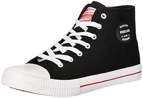 Woodland Men's Sneakers-8 UK (42 EU) (9 US) (GB 3168418C_Black)