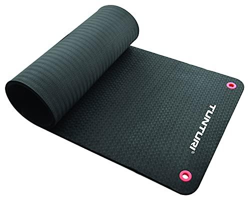 Tunturi-Fitness Pro Estera, Unisex Adulto, Negro, 180 cm