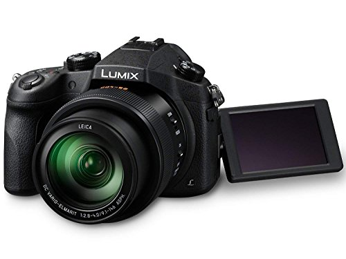Panasonic LUMIX DMC-FZ1000 20.1MP 4K Point and Shoot Digital Camera w/ 16X Zoom Leica Lens, Built-in Wi-Fi and NFC - Black (US Model)