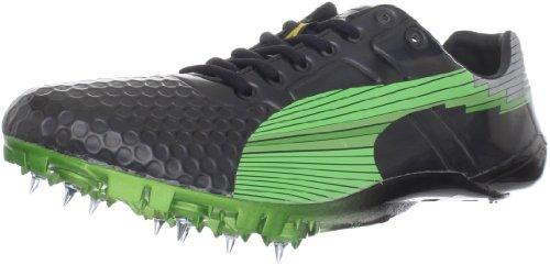 PUMA Bolt Evospeed Sprint Shoes Ltd - Camiseta para hombre, (Black Fluro Green), 45 EU