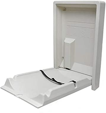 Maternal and Child Room Baby Care Station, Foldable Wall-Mounted Diaper Changing Table for Restroom
