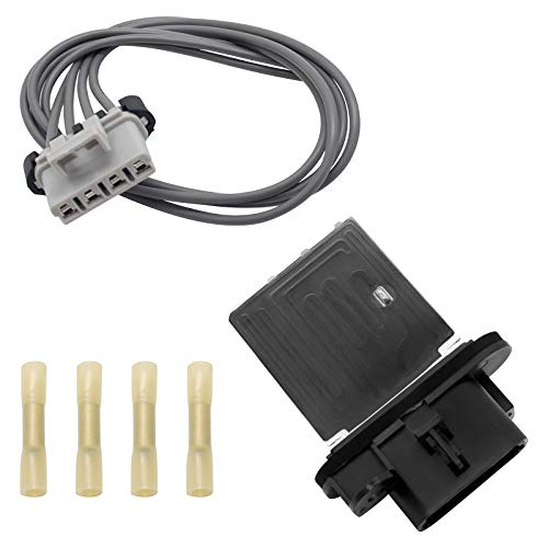 973-582 HVAC Fan Blower Motor Resistor Kit with Wire Harness Compatible with 2005-2017 Toyota Tacoma Replaces 4P1650 JA1772 RU1435 RU746 8713804050 8713804052 by Sikawai
