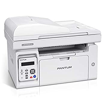All in One Laser Printer Scanner Copier with Auto Document Feeder Wireless Multifunction Black and White Laser Printer Pantum M6552NW W4G61A  White