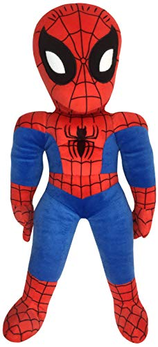 Jay Franco Marvel Super Hero Adventures Toddler Spiderman Plush Stuffed Pillow Buddy - Super Soft Polyester Microfiber, 20 inch (Official Marvel Product)