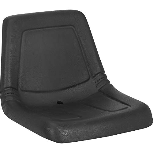 High Back Lawn and Garden Tractor Seat Black Polyurethane Model 11500BK01UN