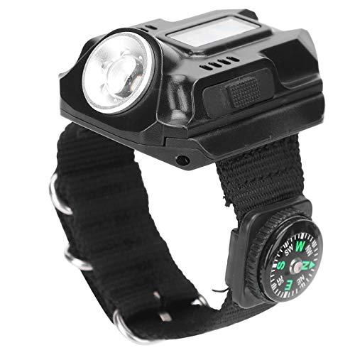 lyrlody- Lámpara LED para Reloj de Pulsera, antorcha, Reloj electrónico a Prueba de Agua, Linterna LED para Deportes y Eventos al Aire Libre