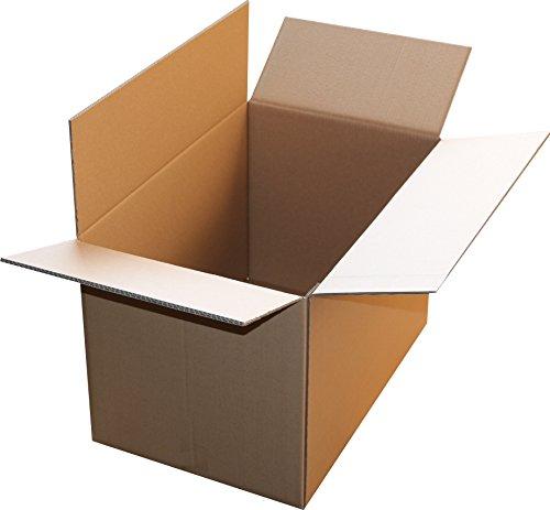 1 St. Faltkarton 700x600x500 2-wellig braun 2.40 BC-Welle Versandverpackung 70x60x50 Umzugs Bücherkartons