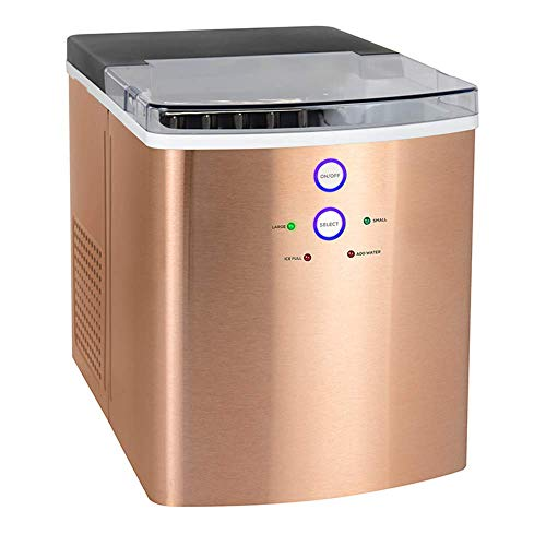 yunyu Eismaschine Gewerblicher Milchteeladen Eiswürfelbereiter Haushalt Kleiner Mini-Schlafsaal Bar Eismaschine, tragbare Eiswürfelherstellung