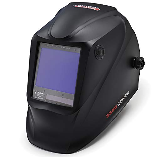 Lincoln Electric K3034-4 VIKING 3350 Welding Helmet, Black