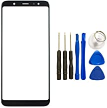 Touch Panel Replacement Part for Samsung Galaxy A6 2018 Touch Screen Glass Panel Lens Cover with Tool (Not LCD &Not Digitizer)