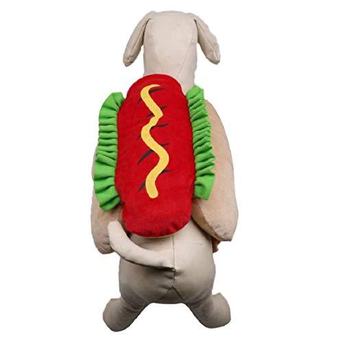 Bluelucon huisdierhotdogburger Cosplay kattenhondenhuisdiermantel huisdier kleding nieuwe grappige burgers veranderde hondenkleding huisdier-mantel huisdierkleding om